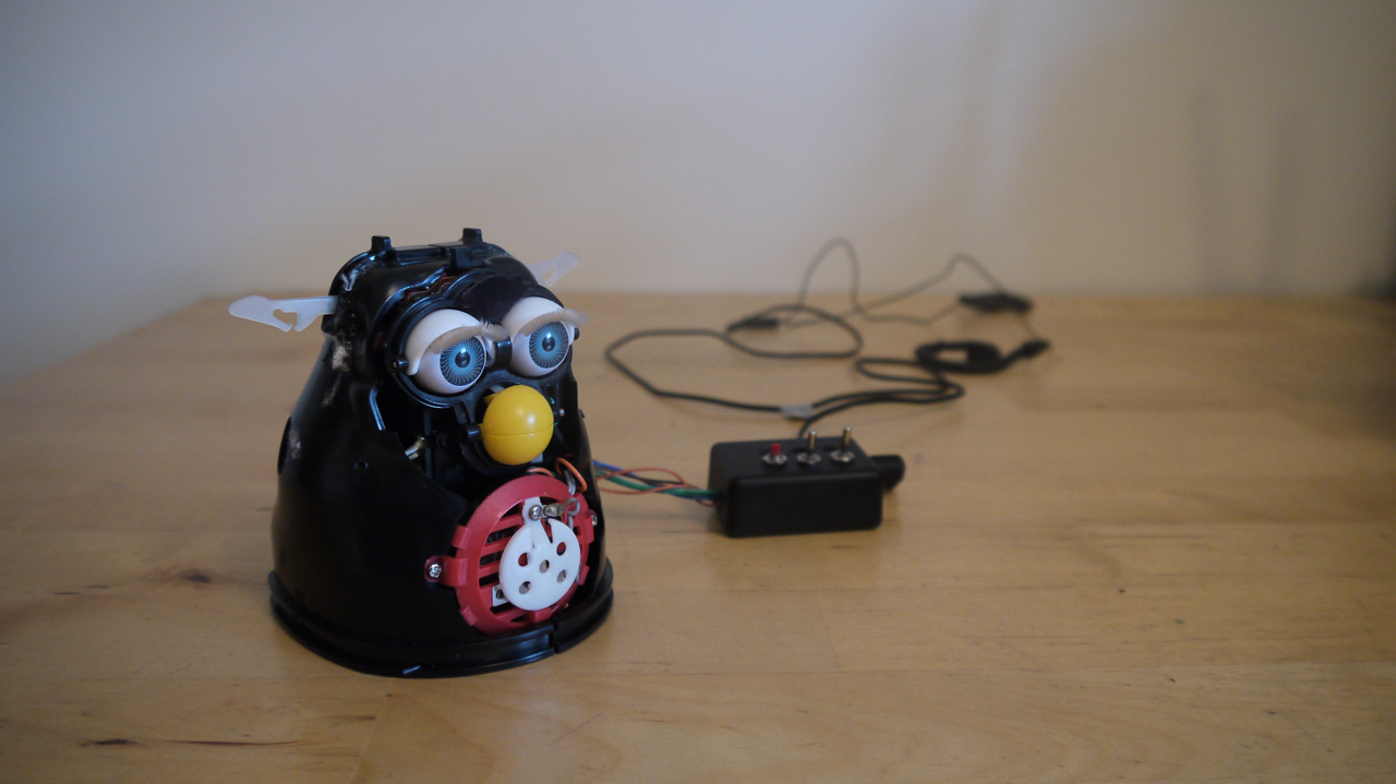 Vex3d Circuit Bent Furby By Stuart Dearnaley Collection Of Circuitbent Toys